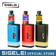 Оригинал sigelei fuchai диапазон fuchai Glo mod Glo T3 комплект вейп E электронная сигарета VAPE высокой мощности