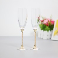 fashion toasting wedding glasses crystal champagne flutes for bride and groom drinking wine glass for lovers gifts-in Other Glass from Home & Garden on Aliexpress.com | Alibaba Group