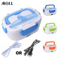 US $13.8 31% OFF|Portable Heated Electric Lunch Box for Car 12V 110V 220V Electric Lunchbox US Plug Container for Food Warmer Heating Keeping-in Lunch Boxes from Home & Garden on Aliexpress.com | Alibaba Group