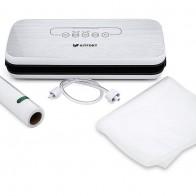 Вакуумный упаковщик Kitfort KT-1502-1 110Вт белый/серый, отзывы владельцев в интернет-магазине СИТИЛИНК (487462)
