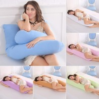 US $20.89 20% OFF|Pregnancy Pillow Bedding Full Body Pillow for Pregnant Women Comfortable U Shape Cushion Long Side Sleeping Support Pillows-in Body Pillows from Home & Garden on Aliexpress.com | Alibaba Group