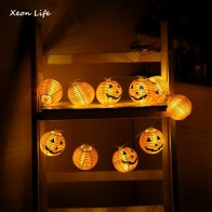 US $3.62 10% OFF|ZMHEGW 2017 New 1 Set Pumpkin 10 LED String Lights Halloween Decoration Lights Warm White Halloween Home Decoration Accessories-in Party DIY Decorations from Home & Garden on Aliexpress.com | Alibaba Group