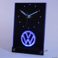 US $14.49 |tnc0171 Volkswagen VW Car Table Desk 3D LED Clock-in Wall Clocks from Home & Garden on Aliexpress.com | Alibaba Group