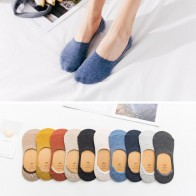 US $3.79 5% OFF|10 pieces = 5 pairs Spring summer women socks Solid color fashion wild shallow mouth invisible socks felmen slipper socks-in Sock Slippers from Underwear & Sleepwears on Aliexpress.com | Alibaba Group