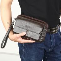 1112.04 руб. 40% СКИДКА|Мужские сумки клатчи для мужчин из натуральной кожи, ручная сумка, мужские длинные бумажники, сумка для мобильного телефона, женские вечерние клатчи, портмоне 2018 on Aliexpress.com | Alibaba Group