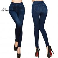 452.01 руб. 10% СКИДКА|Модные тонкие женские леггинсы из искусственной лосины из джинсовой ткани, сексуальные летние леггинсы с длинным карманом и принтом, повседневные узкие брюки, большие размеры-in Лосины from Женская одежда on Aliexpress.com | Alibaba Group