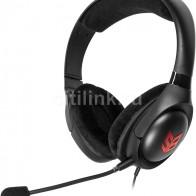 Наушники с микрофоном CREATIVE Sound Blaster Blaze, черный  / красный