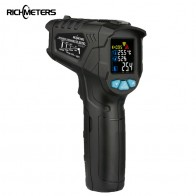 US $19.36 30% OFF|RICHMETERS 550PRO Digital infrared Thermometer laser Temperature Gun Colorful LCD Screen Pyrometer High/Low Alarm-in Temperature Instruments from Tools on Aliexpress.com | Alibaba Group