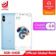 11569.46 руб. |Поддержка оты Глобальный Rom Xiaomi Redmi Note 5 AI 5,99