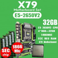12912.03 руб. 61% СКИДКА|PLEXHD X79 Turbo материнская плата LGA2011 ATX combos E5 2650 V2 cpu 4 шт. x 8 ГБ = 32 ГБ DDR3 ram 1866 МГц PC3 1490R PCI E NVME M.2 SSD-in Материнские платы from Компьютер и офис on Aliexpress.com | Alibaba Group
