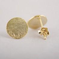 Женские круглые серьги SMJEL, простые геометрические серьги-гвоздики в Корейском стиле, маленькие серьги - Украшения до 300 руб