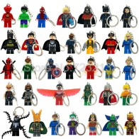 US $1.28 |Hot Super Hero Keychain Figure Scarlet Witch Ultron Superman Vision Mr Fantastic Cyclops Arrow The Falcon Blocks Toys-in Blocks from Toys & Hobbies on Aliexpress.com | Alibaba Group