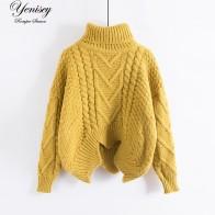957.88 руб. 5% СКИДКА|Свободный воротник свитер женский короткий рукав летучая мышь шероховатое пальто утолщение-in Пуловеры from Женская одежда on Aliexpress.com | Alibaba Group