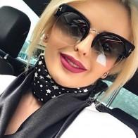 450.55 руб. 35% СКИДКА|Новинка от RSSELDN, солнцезащитные очки с половинчатой оправой, женские брендовые дизайнерские очки с прозрачными линзами, солнцезащитные очки для женщин, модные солнцезащитные очки, винтажные очки-in Женские солнцезащитные очки from Одежда аксессуары on Aliexpress.com | Alibaba Group