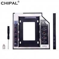 179.24 руб. 38% СКИДКА|CHIPAL Универсальный SATA 3,0 2nd HDD Caddy 9,5 мм для 2,5