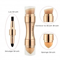 US $2.06 20% OFF|Multi functional Professional 4 in 1 Makeup Brushes Foundation Eyebrow Eyeliner Blush Powder Cosmetic Concealer Brushes -in Eye Shadow Applicator from Beauty & Health on Aliexpress.com | Alibaba Group