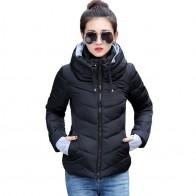 1220.2 руб. 42% СКИДКА|2019 Новая женская модная куртка зимняя куртка женская верхняя одежда короткая стеганая куртка женская стеганая парка Женское пальто-in Парки from Женская одежда on Aliexpress.com | Alibaba Group
