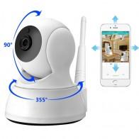 1081.55 руб. 37% СКИДКА|Ip камера Домашняя безопасность двухсторонняя аудио HD 720P Беспроводная мини камера 1MP ночного видения CCTV WiFi камера детский монитор купить на AliExpress