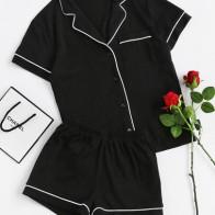 Модная пижама с карманом