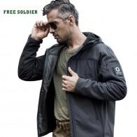 FREE SOLDIER На Открытом Воздухе кемпинга походы тактические мягкой оболочки пальто ветра whisper теплый водонепроницаемый куртка купить на AliExpress
