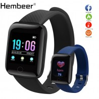 US $7.59 81% OFF|Hembeer D13 Smart Watch Men Women For Android Apple Phone Waterproof Heart Rate Tracker Blood Pressure Oxygen Sport Smartwatch-in Smart Watches from Consumer Electronics on Aliexpress.com | Alibaba Group