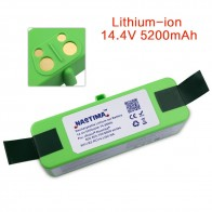 NASTIMA 5.2Ah 14.4V  Lithium Battery For iRobot Roomba Cleaner 500, 600, 700, 800, 980 Series with [UL&CE Certified]-in Rechargeable Batteries from Consumer Electronics on Aliexpress.com   Alibaba Group