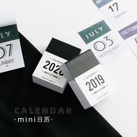 JIANWU 2020 Mini desk Calendar creative Index Decorative note Label Calendar memo pad DIY bullet journal supplies No sticky-in Stationery Stickers from Education & Office Supplies on AliExpress - Voy a girar el calendario