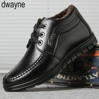1344.91 руб. 32% СКИДКА|Мужские зимние ботинки; деловые ботильоны из натуральной кожи с высоким берцем; хлопковые зимние ботинки с меховой подкладкой для папы-in Базовые сапоги from Туфли on Aliexpress.com | Alibaba Group