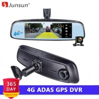 9140.25 руб. 34% СКИДКА|Junsun K755 специальные автомобильные видеорегистраторы 4 г LTE видеомагнитофон ADAS зеркало заднего вида с DVR и камеры Android 5 видеорегистратор 7.86