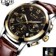 1110.99 руб. 90% СКИДКА|Relojes Hombre LIGE мужские s часы лучший бренд класса люкс мужские спортивные часы мужские модные деловые часы мужские, кожаный кварцевые наручные часы-in Спортивные часы from Ручные часы on Aliexpress.com | Alibaba Group