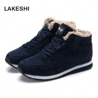 US $7.19 47% OFF|LAKESHI 2018 New Women Boots Winter Fashion Warm Ankle Boots Women Snow Boots Female Black Winter Shoes Women Plus size 35 46-in Ankle Boots from Shoes on Aliexpress.com | Alibaba Group