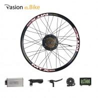 Pasion E Bike 48 В 500 Вт Bafang Hub Motor Set для комплекта для преобразования электрического велосипеда 8FUN BAFANG Двигатель заднего колеса мотор колесо Комплект для преобразования велосипеда с электроприводом купить на AliExpress