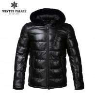 17334.66 руб. 50% СКИДКА|Чистый кожный хлопок с копюшоном зимнее тёплое пальто ЗИМНИЙ ДВОРЕЦ-in Куртки из кожи from Мужская одежда on Aliexpress.com | Alibaba Group