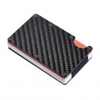 543.56 руб. |Кредитные держатель для карт углеродного волокна/алюминиевый сплав RFID сканирования кошелек из металла LBY2018 купить на AliExpress