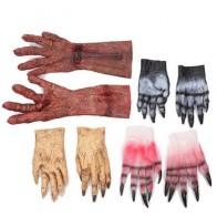 Хэллоуин ужас зомби перчатки макияж вечерние Декор Косплей Tricky крови реквизит дьявол призрак костюм - Helloween / Хеллоуин