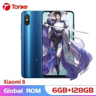 US $414.99 |Original Global Firmware Xiaomi Mi8 Mi 8 6GB RAM 128GB ROM Snapdragon 845 Octa Core 6.21