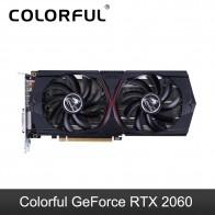 31344.42 руб. 28% СКИДКА|Красочная графическая карта GeForce RTX 2060 Nvidia GDDR6 GPU 6G игровая видеокарта 1620 Mhz 192bit PCI E 3,0 для игрового ПК купить на AliExpress