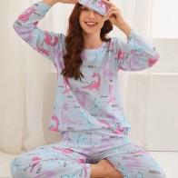 Пижама с принтом динозавра