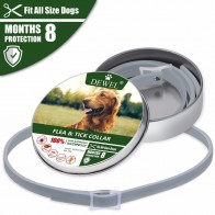 US $6.04 47% OFF|Dewel Dog Collar Anti Flea Mosquitoes Ticks Insect Waterproof Herbal Pet Collar 8 Months Protection Dog Accessories-in Collars from Home & Garden on Aliexpress.com | Alibaba Group