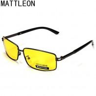 Мужские очки для вождения автомобиля, очки ночного видения, антибликовые солнцезащитные очки, мужские поляризованные солнцезащитные очки для вождения в стиле ретро, gafas de sol-in Мужские солнцезащитные очки from Аксессуары для одежды on AliExpress - Yellow Glasses