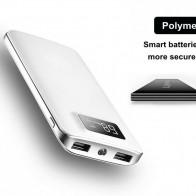 884.6 руб. 20% СКИДКА|30000 мАч внешний аккумулятор ЖК экран дисплей Портативный двойной usb порты телефон зарядное устройство для iPhone планшет телефон купить на AliExpress