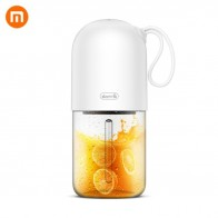 US $18.71 6% OFF|XIAOMI MijiA Deerma Portable Mini Fruit Juicer Kitchen Electric Mixer Capsule Shape Powerful Electric Juice Cup XIAOMI YouPIN-in Smart Remote Control from Consumer Electronics on AliExpress