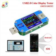 1144.34 руб. 20% СКИДКА|RD UM25 UM25C для приложения USB 2,0 type C ЖК Вольтметр Амперметр измеритель напряжения тока кабель для зарядки аккумулятора сопротивление usb Тестер-in Измерители напряжения from Орудия on Aliexpress.com | Alibaba Group