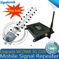 US $54.99 45% OFF|Lintratek Set Gain 70dB (LTE Band 1) 2100 UMTS Mobile Signal Booster 3G (HSPA) WCDMA 2100MHz 3G UMTS Cellular Repeater Amplifier-in Signal Boosters from Cellphones & Telecommunications on Aliexpress.com | Alibaba Group