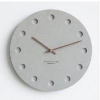 12 дюймовые настенные часы в скандинавском стиле, современные креативные часы, минималистичные Висячие Часы для гостиной, прикроватные безз... - Крутые настенные часы