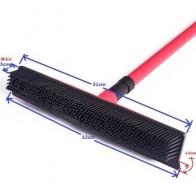 Многофункциональный телескопический метла волшебный, резиновый очиститель besom щетка для удаления волос для домашних животных домашний пол...