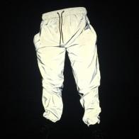 1636.98 руб. 45% СКИДКА|ABOORUN 3 м светоотражающие Джоггеры мужские хип хоп Водонепроницаемый брюки ветровки ночь спортивных Флуоресцентные брюки x499 купить на AliExpress
