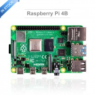 US $42.82 22% OFF|Latest Raspberry Pi 4 Model B with 1/2/4GB RAM BCM2711 Quad core Cortex A72 ARM v8 1.5GHz Support 2.4/5.0 GHz WIFI Bluetooth 5.0-in Demo Board from Computer & Office on AliExpress