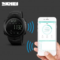 1050.55 руб. 25% СКИДКА|Спортивные Смарт часы мужские SKMEI брендовый шагомер Удаленная камера калорий Bluetooth Smartwatch напоминание цифровые наручные часы Relojes-in Цифровые часы from Ручные часы on Aliexpress.com | Alibaba Group