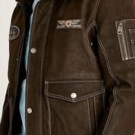 Мужская кожаная куртка Derimod ME-5637982454 - Мужские кожаные куртки